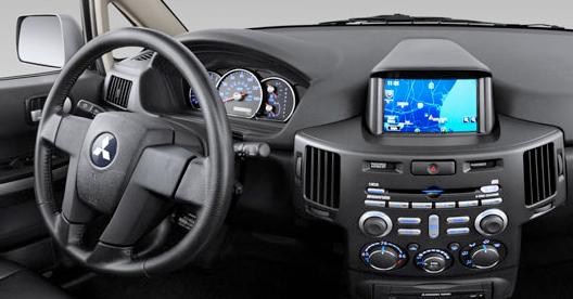2010 Mitsubishi Endeavor, Interior View, interior, manufacturer