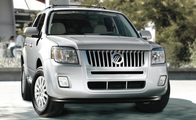2010 Mercury Mariner, Front View, exterior