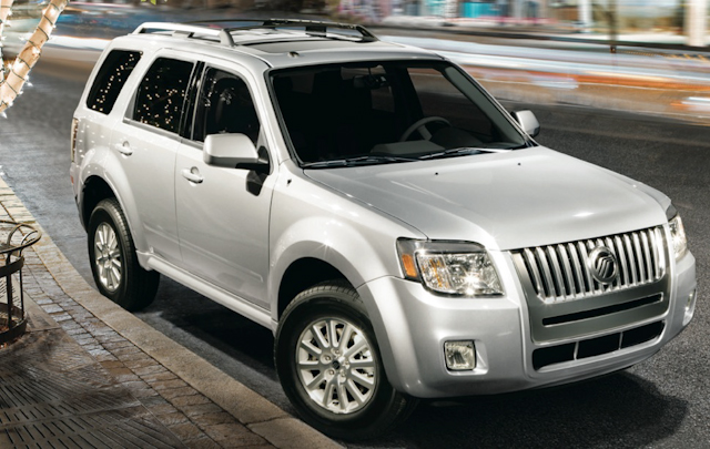 2010 Mercury Mariner, Front Right Quarter View, exterior, manufacturer