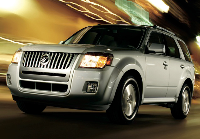 2010 Mercury Mariner, Front Left Quarter View, manufacturer, exterior