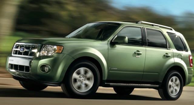 2010 Ford Escape Hybrid, Left Side View, exterior, manufacturer