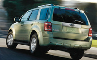 2010 Ford Escape Hybrid, Back Left Quarter View, manufacturer, exterior