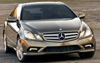 2010 Mercedes-Benz E-Class, Front View, exterior, manufacturer
