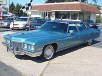 1972 Cadillac Fleetwood Overview