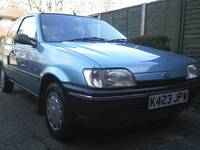 1993 Ford Fiesta Picture Gallery