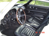 1966 Chevrolet Corvette Coupe picture, interior