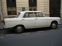 1963 Peugeot 404 Overview