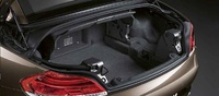 2009 BMW Z4, trunk space, interior, manufacturer