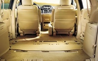 2010 Honda Odyssey, trunk space, interior, manufacturer