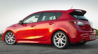 2010 Mazda MAZDASPEED3, side view, manufacturer, exterior
