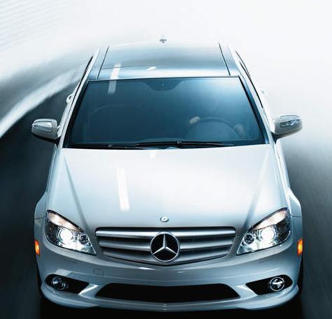 2010 Mercedes-Benz C-Class, front view, exterior, manufacturer