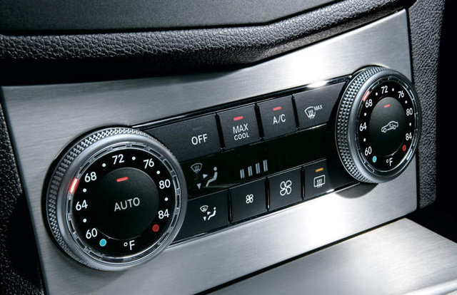 2010 Mercedes-Benz C-Class, controls, interior, manufacturer