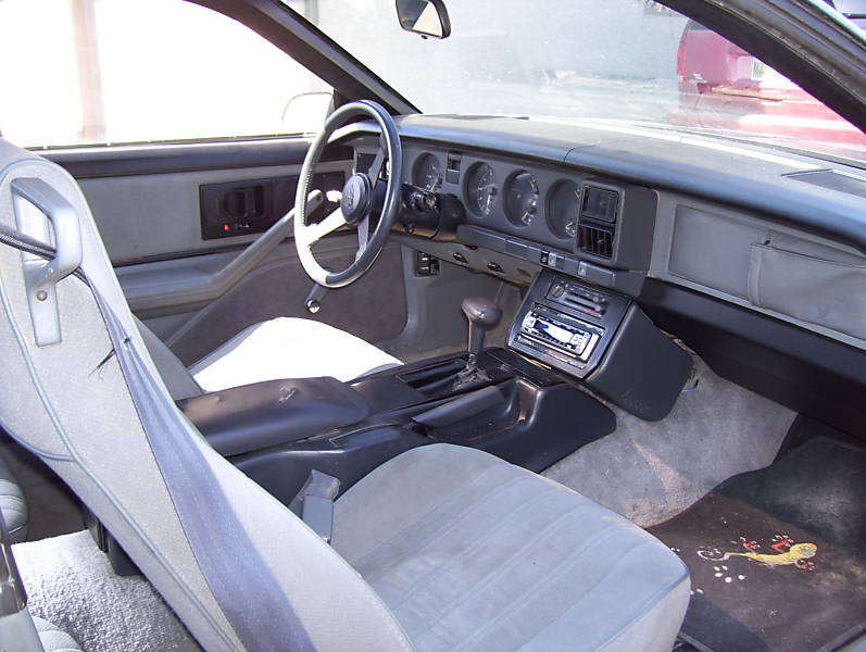 1982 Pontiac Trans Am Interior