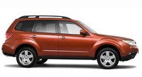 2010 Subaru Forester, side view, exterior, manufacturer
