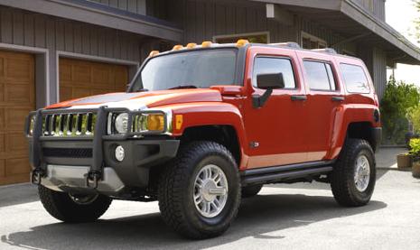 2010 Hummer H3, exterior, manufacturer