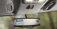2010 Hummer H3, rearview mirror, interior, manufacturer