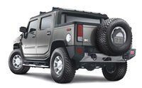 2010 Hummer H2 SUT, back view, exterior, manufacturer, gallery_worthy