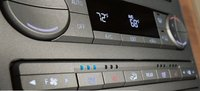 2010 Lincoln Navigator, dashboard controls, interior, manufacturer