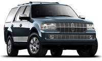 2010 Lincoln Navigator, front view, exterior, manufacturer