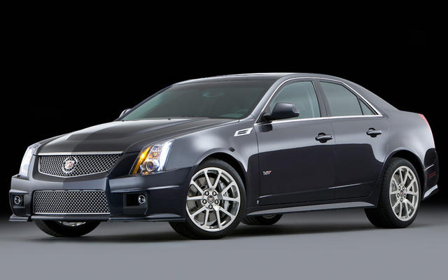Picture of 2009 Cadillac CTS-V, exterior, gallery_worthy
