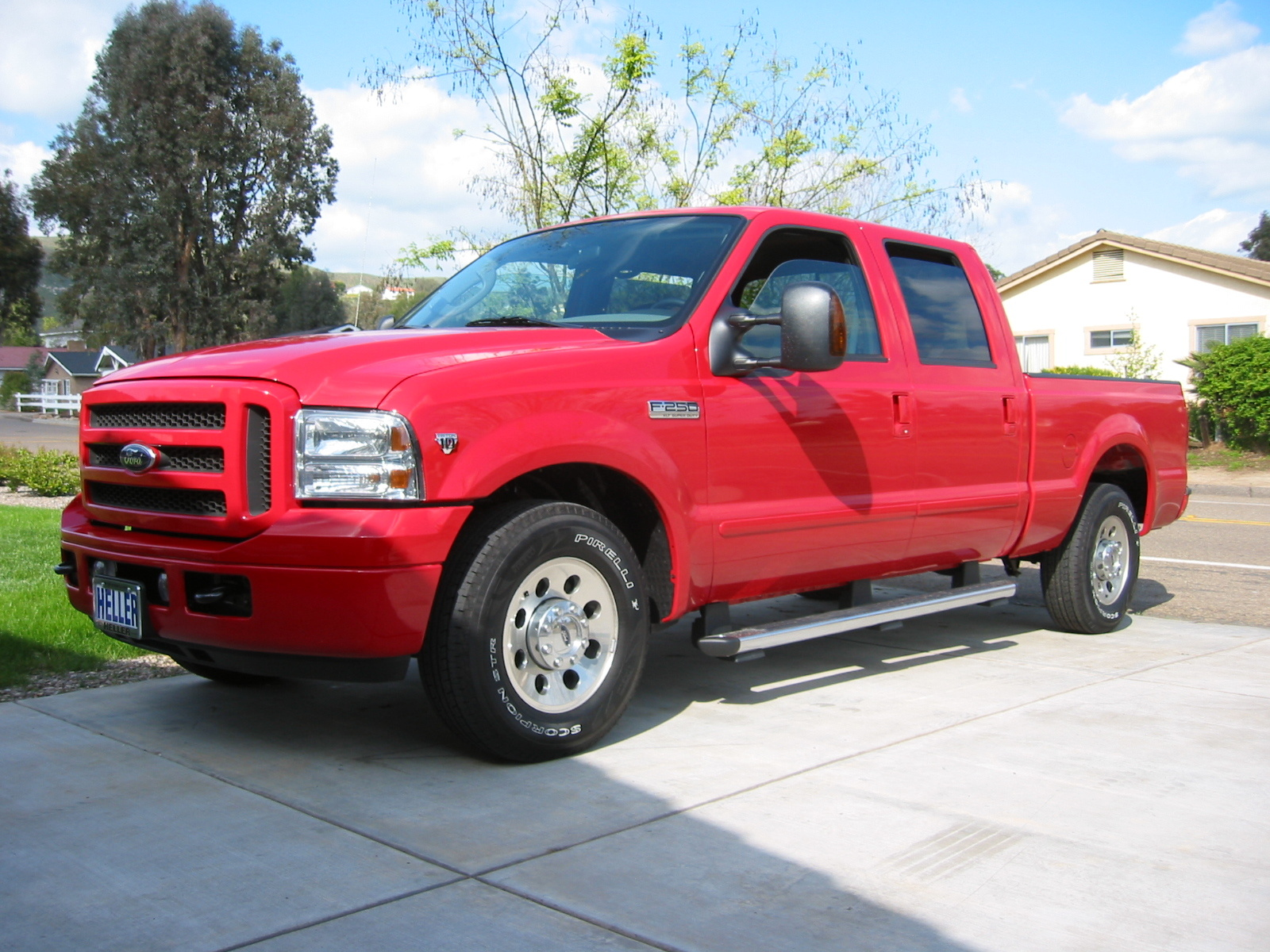 2007 ford f 250 super duty red 200 interior and. Black Bedroom Furniture Sets. Home Design Ideas