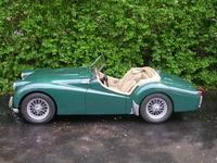 1954 Triumph TR2 Overview