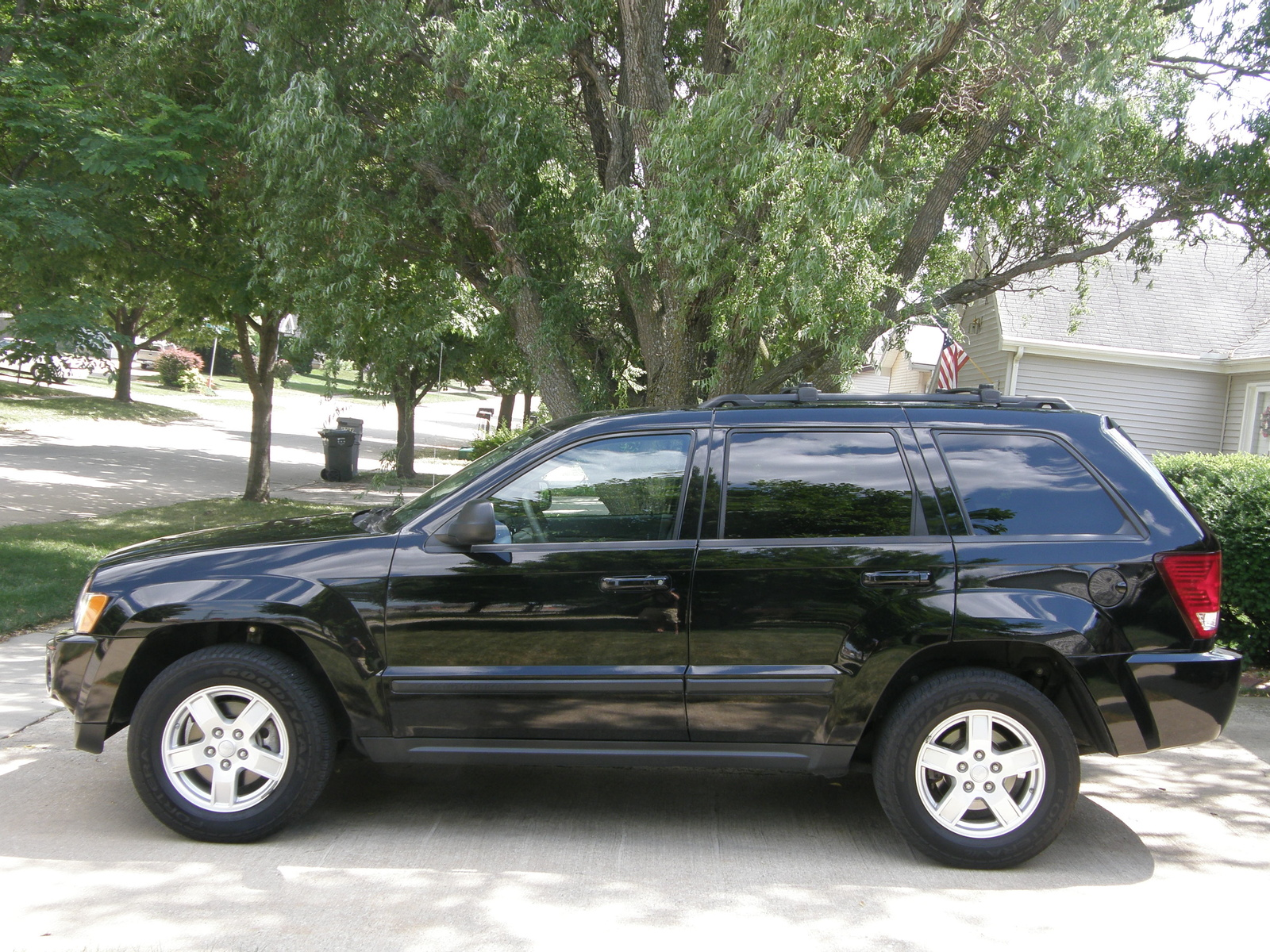 picture of 2007 jeep grand cherokee laredo exterior. Black Bedroom Furniture Sets. Home Design Ideas