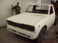 1974 Toyota Hilux, Overall new paint, exterior, gallery_worthy