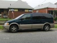 2000 Pontiac Montana Base Extended, 2000 Pontiac Montana Van, exterior