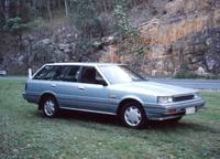 1986 Nissan Pintara Overview