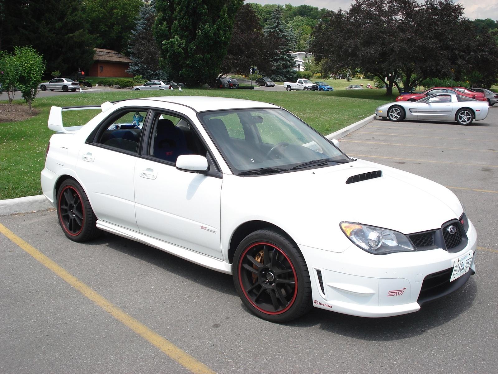 2006 Subaru Impreza WRX STi WRX STi picture, exterior
