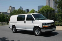 2010 Chevrolet Express, Front Right Quarter View, manufacturer, exterior
