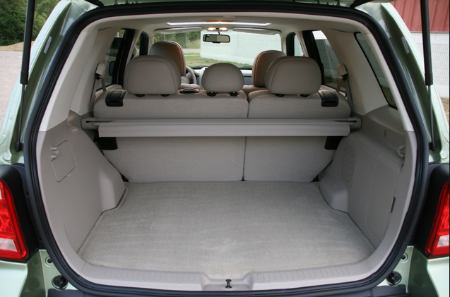 2010 Ford Escape Hybrid, Interior Cargo View, manufacturer, interior
