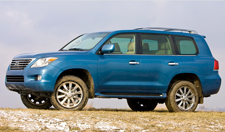 2010 Lexus LX 570, Front Left Quarter View, exterior, manufacturer, gallery_worthy
