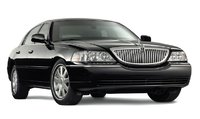 2010 Lincoln Town Car, Front Right Quarter View, exterior, manufacturer