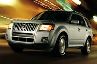 2010 Mercury Mariner Hybrid, Front Left Quarter View, exterior, manufacturer