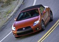2010 Mitsubishi Eclipse Spyder, Overhead View, exterior, manufacturer