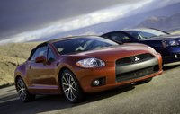 2010 Mitsubishi Eclipse Spyder, Front Right Quarter View, exterior, manufacturer