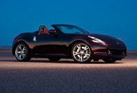 2010 Nissan 370Z, Front Right Quarter View, manufacturer, exterior