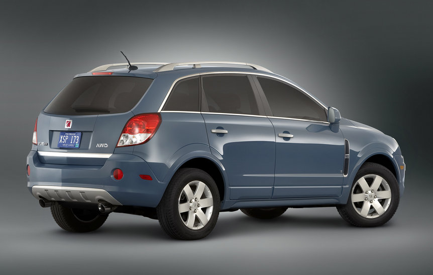 2010 Saturn VUE, Back Right Quarter View, manufacturer, exterior