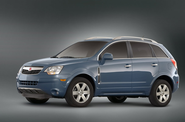 2010 Saturn VUE, Front Left Quarter View, exterior, manufacturer