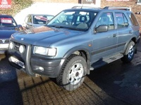1999 Vauxhall Frontera Overview