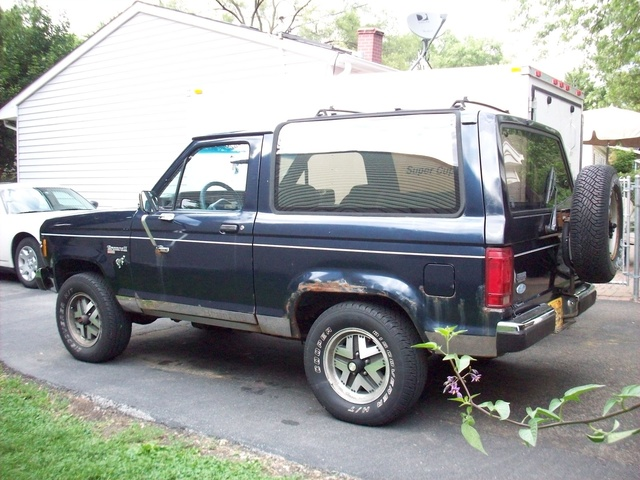 1987 Ford Bronco Interior Picture of 1987 Ford Bronco ii