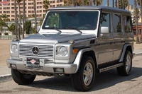 2002 Mercedes-Benz G-Class Overview