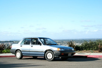1987 Honda Civic Base, 1987 Honda Civic 4-Dr Sedan picture, exterior