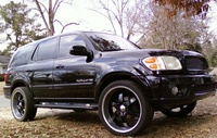 2002 Toyota Sequoia Limited picture, exterior