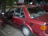 1987 Nissan Stanza Picture Gallery