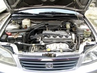 2001 Honda City picture, engine