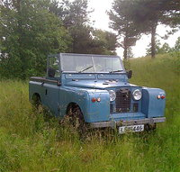 1959 Land Rover Series II Picture Gallery
