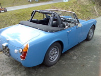 1970 Austin-Healey Sprite Overview